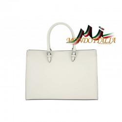 Talianska kožená kabelka 667 béžová MADE IN ITALY