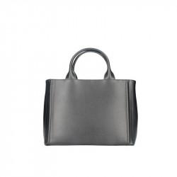 Talianska kožená kabelka 667A čierna MADE IN ITALY e73f4bb6af2