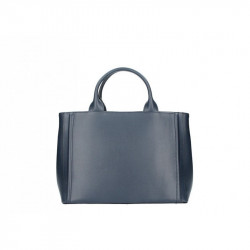 Talianska kožená kabelka 667A modrá MADE IN ITALY a7d15d9cae1