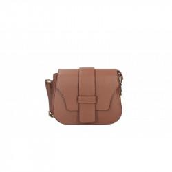 Talianska kožená kabelka 870A hnedá MADE IN ITALY, hnedá