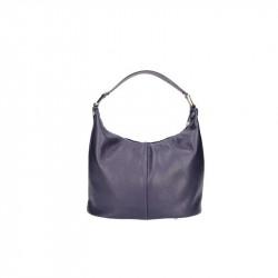 Talianska kožená kabelka 9011 fialová MADE IN ITALY, fialová