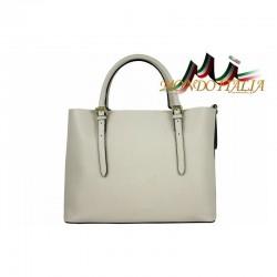 Talianska kožená kabelka 95 béžová MADE IN ITALY 95