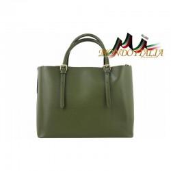 Talianska kožená kabelka 95 zelená MADE IN ITALY 95 79d67a962cd