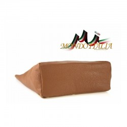 Talianska kožená kabelka na rameno 396 zlatá MADE IN ITALY 396 #2