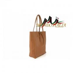 Talianska kožená kabelka na rameno 396 zlatá MADE IN ITALY 396 #3