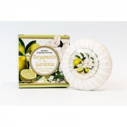 Talianske prírodné mydlo Bergamot citrus a gardénia 100 g MADE IN ITALY 1431