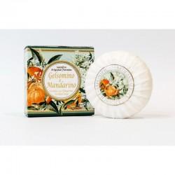 Talianske prírodné mydlo Jasmín a mandarinka 100 g MADE IN ITALY 1436