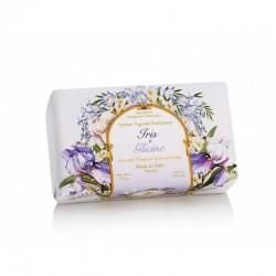 Talianske prírodné mydlo KOSATEC A VISTÉRIA 250 g