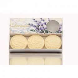 Talianske prírodné mydlo levanduľa 3x125 g  9909 #1