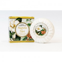 Talianske prírodné mydlo magnólia a tiaré 100 g MADE IN ITALY 1433