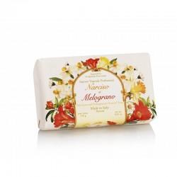 Talianske prírodné mydlo NARCIS A GRANÁTOVÉ JABLKO 250 g