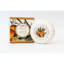 Talianske prírodné mydlo Pomaranč a škorica 100 g MADE IN ITALY 1432