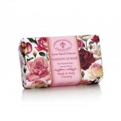 Talianske prírodné mydlo ZÁHRADA RUŽÍ 250 g