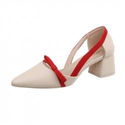 Trendové Sandále 166 béžové, 41, béžová
