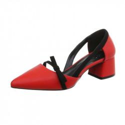 Trendové sandále 166 červené, 41, červená