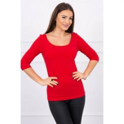 Tričko s okrúhlym výstrihom MI8832 červené, Uni, Červená