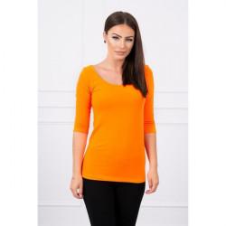 Tričko s okrúhlym výstrihom MI8832 oranžové, Uni, Oranžová