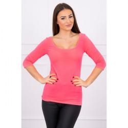 Tričko s okrúhlym výstrihom MI8832 ružové, Uni, Ružová