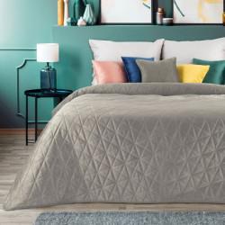 Zamatový prehoz na posteľ Luiz3 béžový Béžová 170 x 210 cm