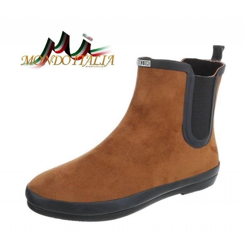 1e6364d8f055a Dámska gumová obuv 377A hnedá, Veľkosť obuvi 39, Farba hnedá ...