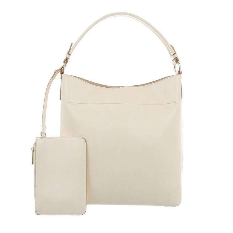 Dámska kabelka na rameno 1283 béžová 161ffc51ecf