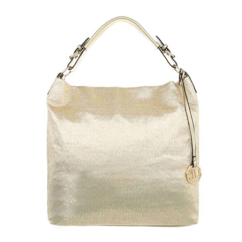 Dámska kabelka na rameno 22 zlatá, zlatá