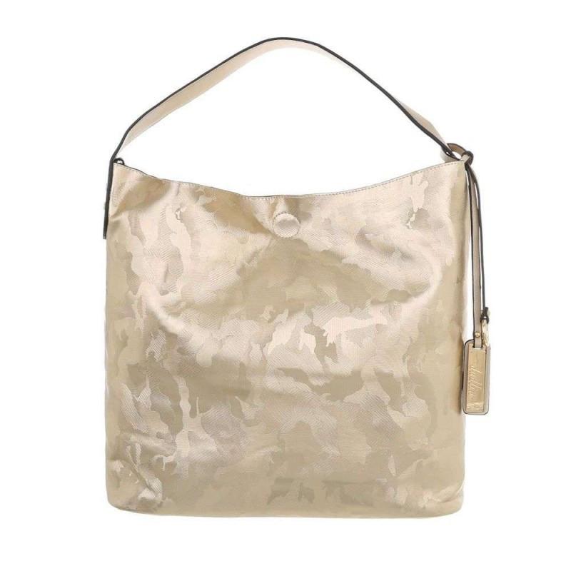 Dámska kabelka na rameno 5071 zlatá, zlatá