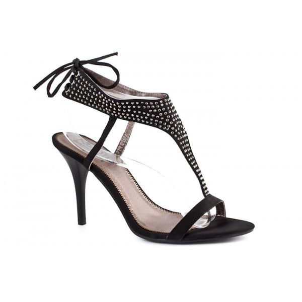 Dámske sandále 316 čierne Nedline Shoes, Čierna, 40
