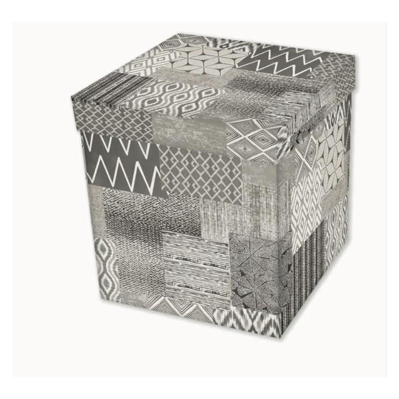 Dekoratívna taburetka s úložným priestorom CIK-CAK