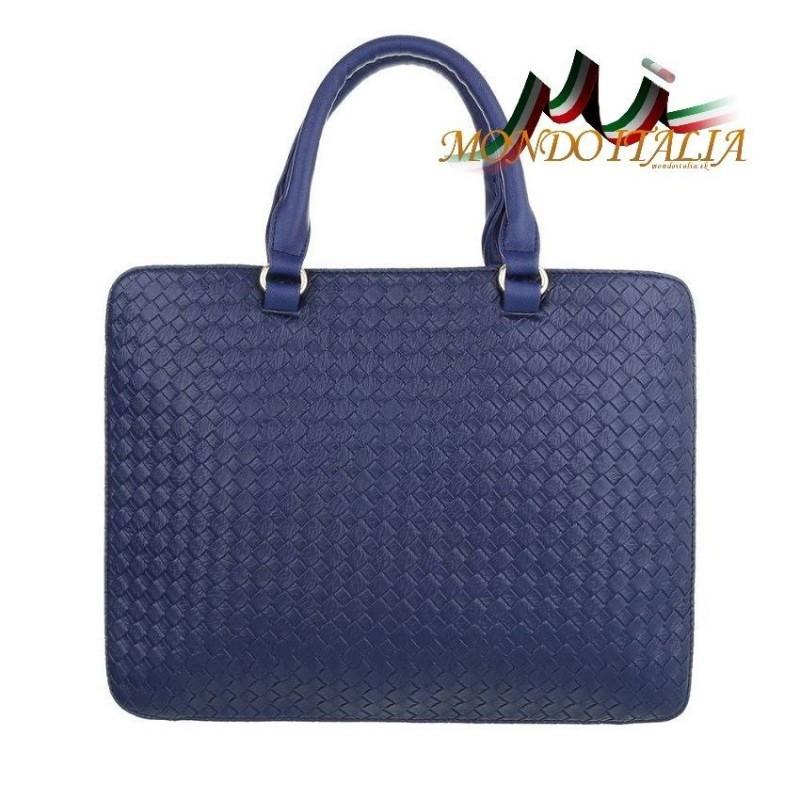 3153cfa459 Elegantná dámska kabelka 418 modrá 418 - Výpredaj kabeliek - Locca.sk