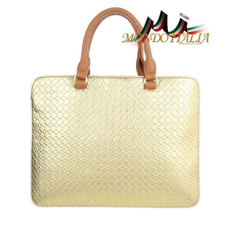 Elegantná dámska kabelka 418 zlatá  418