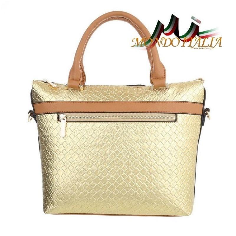 Elegantná dámska kabelka 418A zlatá  418A