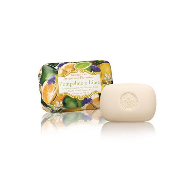 SA Fiorentino Prírodné rastlinné mydlo Grep a limetka 200 g