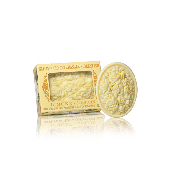 SA Fiorentino Prírodné tuhé mydlo Citrón 125 g
