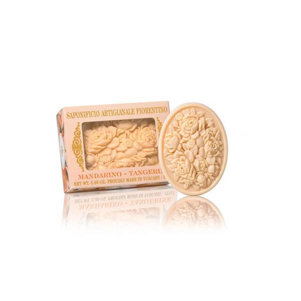SA Fiorentino Prírodné tuhé mydlo Mandarinka 125 g