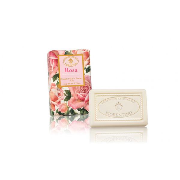 SA Fiorentino Prírodné tuhé mydlo Ruža 150 g