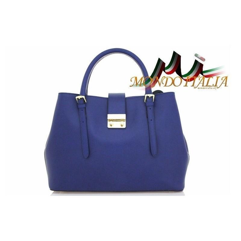 Talianska kožená kabelka 108 modrá MADE IN ITALY 108 - Talianske ... 72eae968ce9