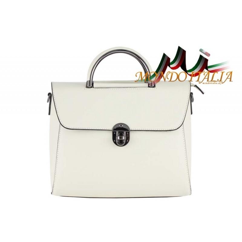 Talianska kožená kabelka 658 béžová MADE IN ITALY - Talianske ... 81859a8e385