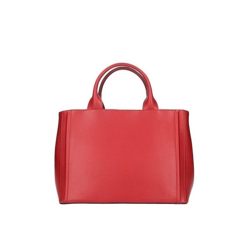 05171d1caa Talianska kožená kabelka 667A červená MADE IN ITALY