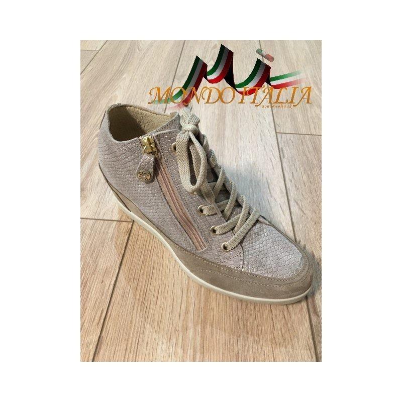 Talianske kožené tenisky IMAC 101 béžové IMAC 101 a7199b5837