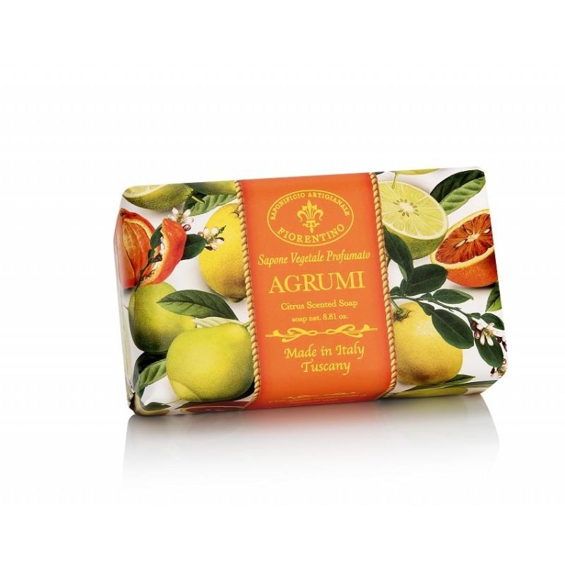 Talianske prírodné mydlo CITRUSY 250 g, Vôňa Citrusy