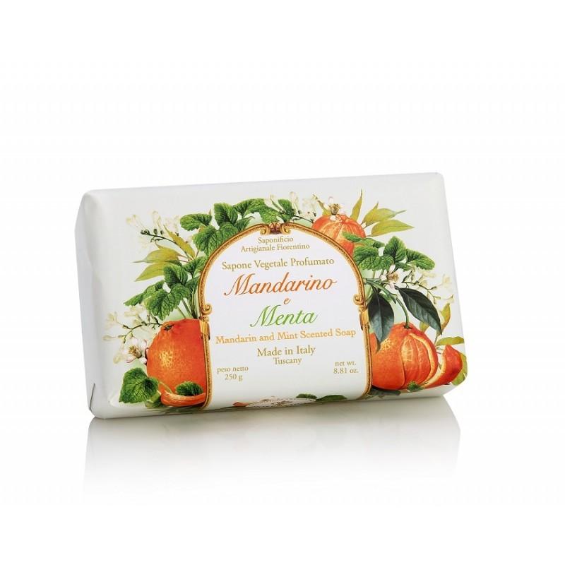 Talianske prírodné mydlo mandarinka a mäta 250 g