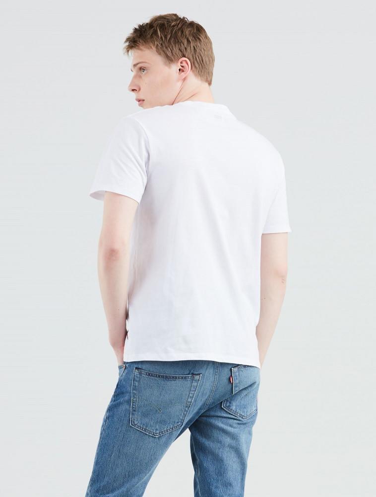 979bbcd16a LEVIS Pánske biele tričko s krátkym rukávom Levi´s® The Perfect ...