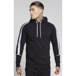 Pánska mikina ILLUSIVE LONDON Flagship Overhead Hoodie – Black