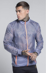 SIK SILK Pánska prechodná bunda SikSilk Acceleration Jacket – Light Grey