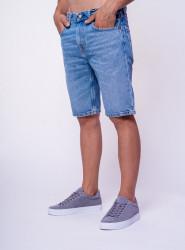LEVIS Pánske modré jeansové kraťasy LEVI´S® 502