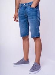 LEVIS Pánske tmavo-modré jeansové kraťasy LEVI´S® 501
