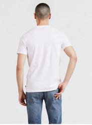 LEVIS Pánske biele tričko s krátkym rukávom Levi´s® House Mark Graphic Tee #1