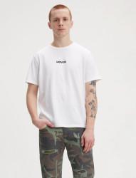 LEVIS Pánske biele tričko s krátkym rukávom Levi´s® Relaxed Graphic