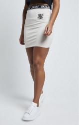 SIK SILK Dámska sukňa SikSilk Elastic Waist Tube Skirt – Stone